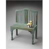 Butler Roseland Blue Solid Wood Bench, Heritage