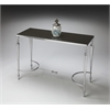 BUTLER Console/Sofa Table, Nickel