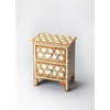 Vivienne Bone Inlay Accent Chest, Rose Bone Inlay
