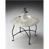 Butler Agadir Metal Moroccan Tray Table, Metalworks
