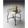 Butler Moroccan Metal Tray Table, Metalworks