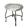 Moroccan Metal Tray Table, Metalworks