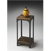 Gandolph Industrial Chic Pedestal Stand, Mountain Lodge