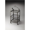 Butler Trammel Industrial Chic Chairside Table, Industrial Chic
