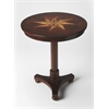 Seymour Plantation Cherry Accent Table, Plantation Cherry