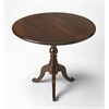 Dunlay Plantation Cherry Drop-Leaf Accent Table, Plantation Cherry