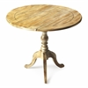 Butler Dunlay Driftwood Drop Leaf Accent Table, Driftwood
