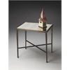 "Butler Accent Table, Metalworks, 25""W, 17""D, 26""H"
