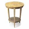 Butler Serenade Driftwood Round Accent Table, Driftwood