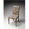 BUTLER Parsons Chair, Zebra Print Fabric
