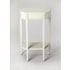 Wendell Cottage White Console Table, Cottage White