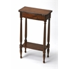Whitney Antique Cherry Console Table, Antique Cherry