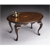 BUTLER Oval Cocktail Table, Plantation Cherry