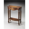 Cheshire Dark Toffee Console Table, Dark Toffee