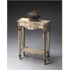 Butler Cheshire Guilded Cream Painted Console Table, Gilted Cream