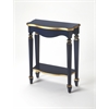 Cheshire Navy & Gold Console Table, Navy & Gold