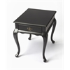 Grace Black Licorice End Table, Black Licorice
