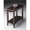 BUTLER Chairside Table, Merlot