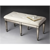 Butler Celeste Mirrored Bench, Mirror