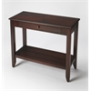 Irvine Plantation Cherry Console Table, Plantation Cherry