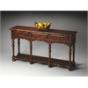 Ashland Tobacco Leaf Console Table, Tobacco Leaf
