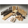 BUTLER ANATOLY WOOD GAME PIECES