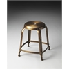 Dutton Bronze Iron Stool, Metalworks