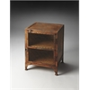 Butler Lucas Industrial Chic Chairside Chest, Metalworks