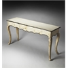 Butler Josephine Solid Wood Console Table, Artifacts