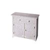 Vivienne Lavender Bone Inlay Console Chest, Heritage