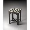 Bishop Bone Inlay Bunching Chess Table, Heritage