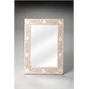Butler Vivienne Pink Bone Inlay Wall Mirror, Heritage