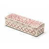 Amanda Rose Bone Inlay Storage Box, Rose Bone Inlay