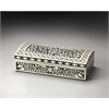 Vivienne Black Bone Inlay Storage Box, Hors D'oeuvres
