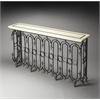 Vienna Fossil Stone Console Table, Connoisseur's