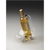 Crystal Clear Acrylic Wine Bottle Stand, Hors D'oeuvres
