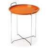 Butler Midtown Orange Tray Table, Orange