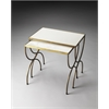 Bacchus Marble & Iron Nesting Tables, Metalworks