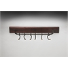 Glendo Iron & Wood Wall Rack, Hors D'oeuvres