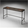 Orin Reclaimed Wood Console Table, Artifacts