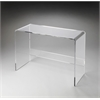Crystal Clear Acrylic Console Table, Loft