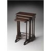 Dunham Plantation Cherry Nesting Tables, Plantation Cherry