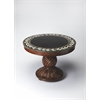 Fossil Stone Foyer Table, Heritage