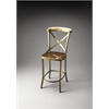 Bennington Antique Gold Bar Stool, Industrial Chic