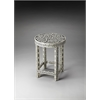 BUTLER Accent Table, Black Bone Inlay