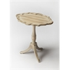BUTLER Oval Pedestal Table, Driftwood
