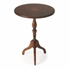 Butler Archambault Antique Cherry Pedestal Table, Antique Cherry