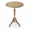 Archambault Driftwood Pedestal Table, Driftwood