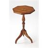 Archambault Antique Cherry Octagonal Pedestal Table, Antique Cherry