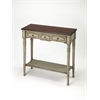 Banham Antique Gray Console Table, Antique Gray